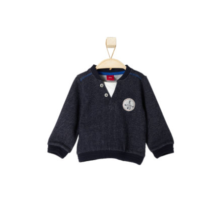 s.OLIVER Boys Mini Sweatshirt dark blue melange