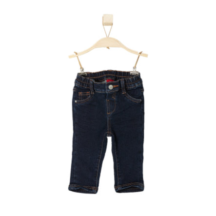 s.OLIVER Boys Mini Jeans blue denim stretch