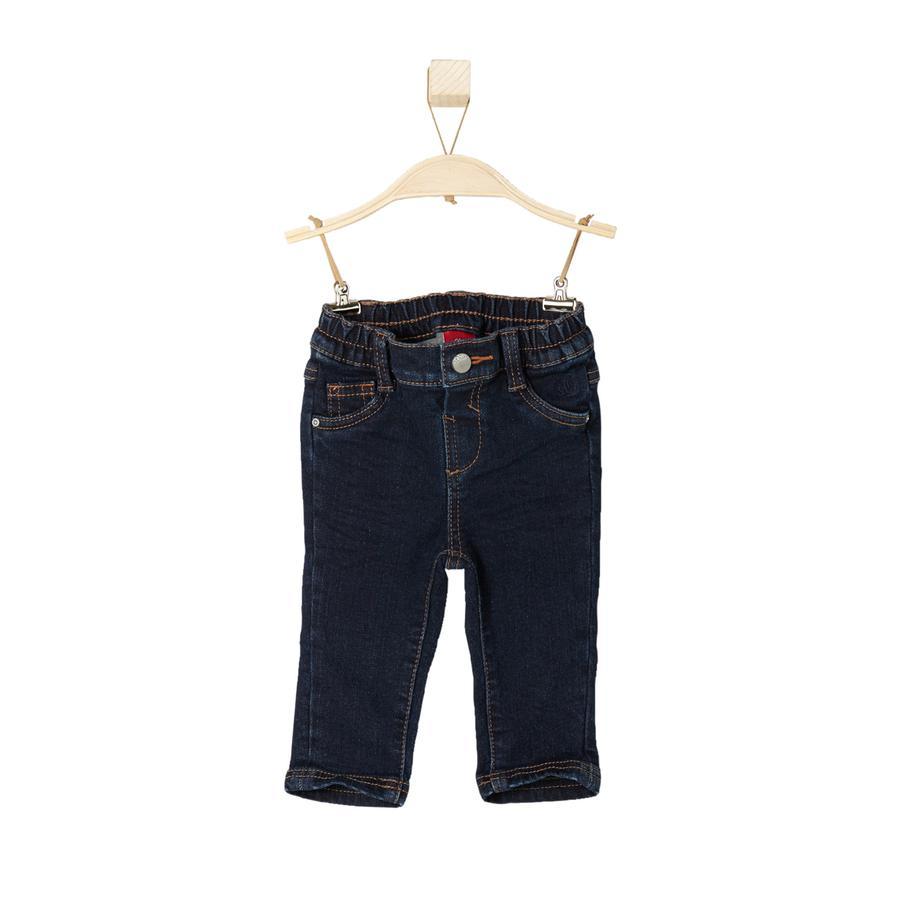 s.Oliver Boys Mini Jeans blå denim stretch