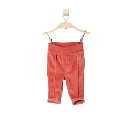 s.OLIVER Girl s Pantalones de terciopelo de bebé rojo