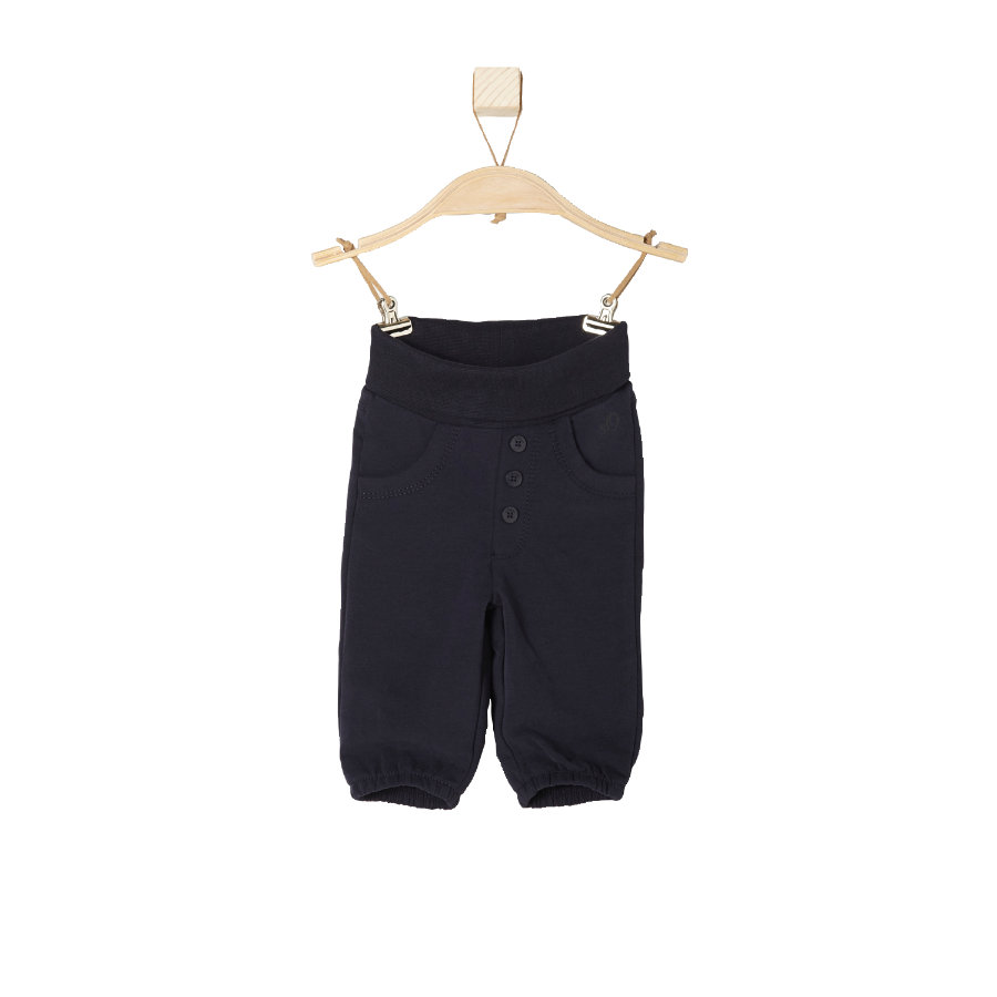 s.OLIVER Boys Baby Sweathose dark blue