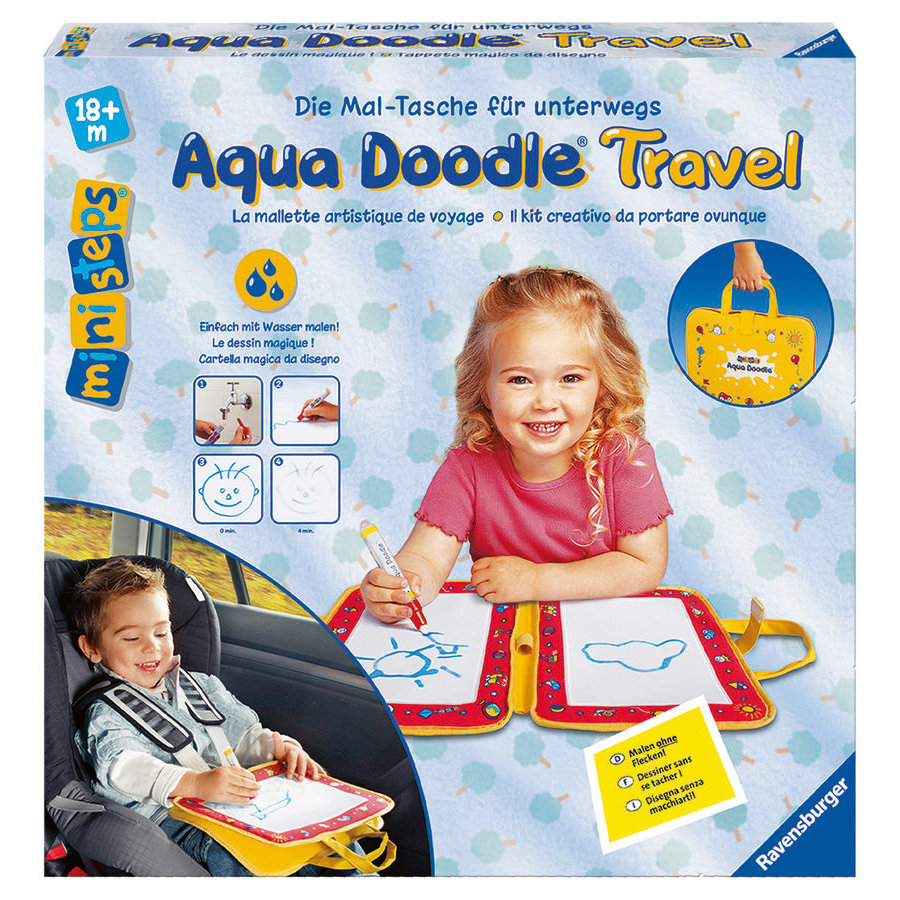 RAVENSBURGER ministeps Znikopis Aqua Doodle travel