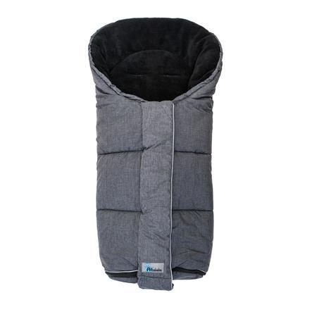 Altabebe Śpiworek zimowy Alpin do wózka, ciemnoszary-czarny