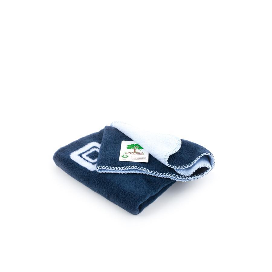 MOON Bio-deken 201 lichtblauw / navy