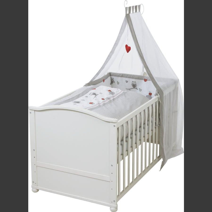 roba Kombi-Kinderbettset weiß Adam & Eule