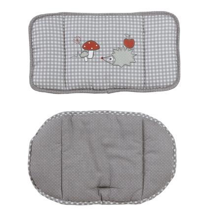 ROBA Polstrování do židličky 2 dílné Adam & sova, šedé