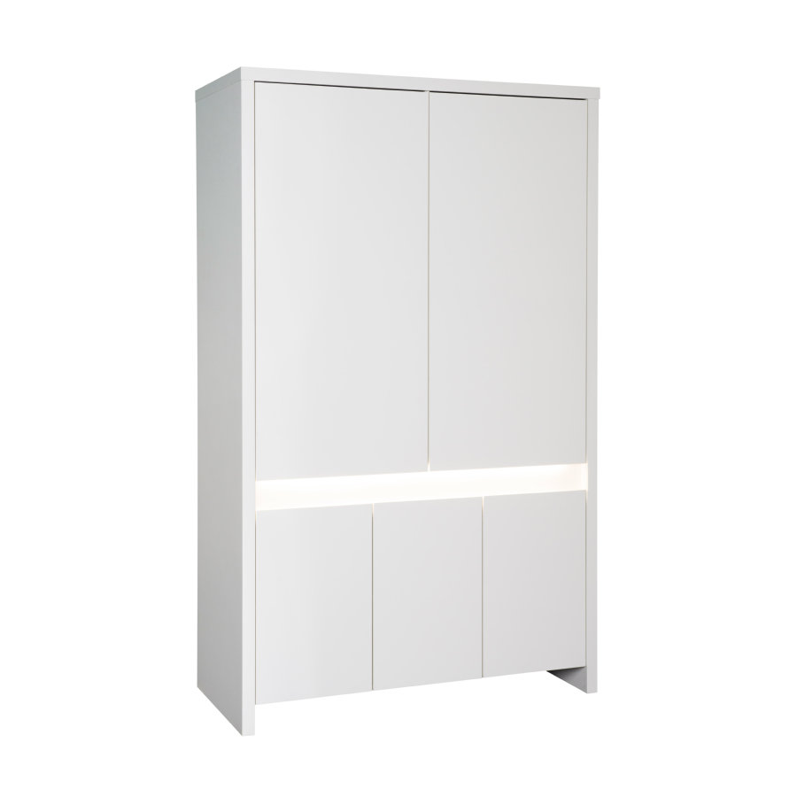 SCHARDT Armoire 5 portes PLANET WHITE