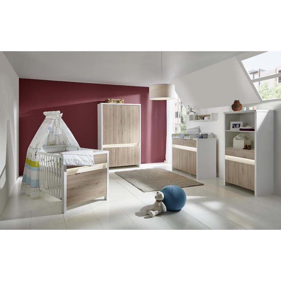 Schardt Kinderzimmer Planet Pinie 5-türig