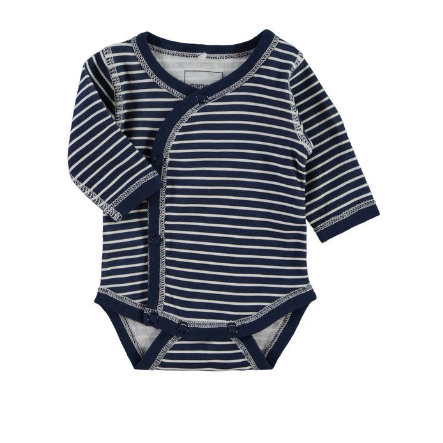 NAME IT Boys Frühchen Wickelbody NITWONDER dress blues