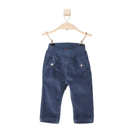 s.OLIVER Girls Mini Pantalone blu