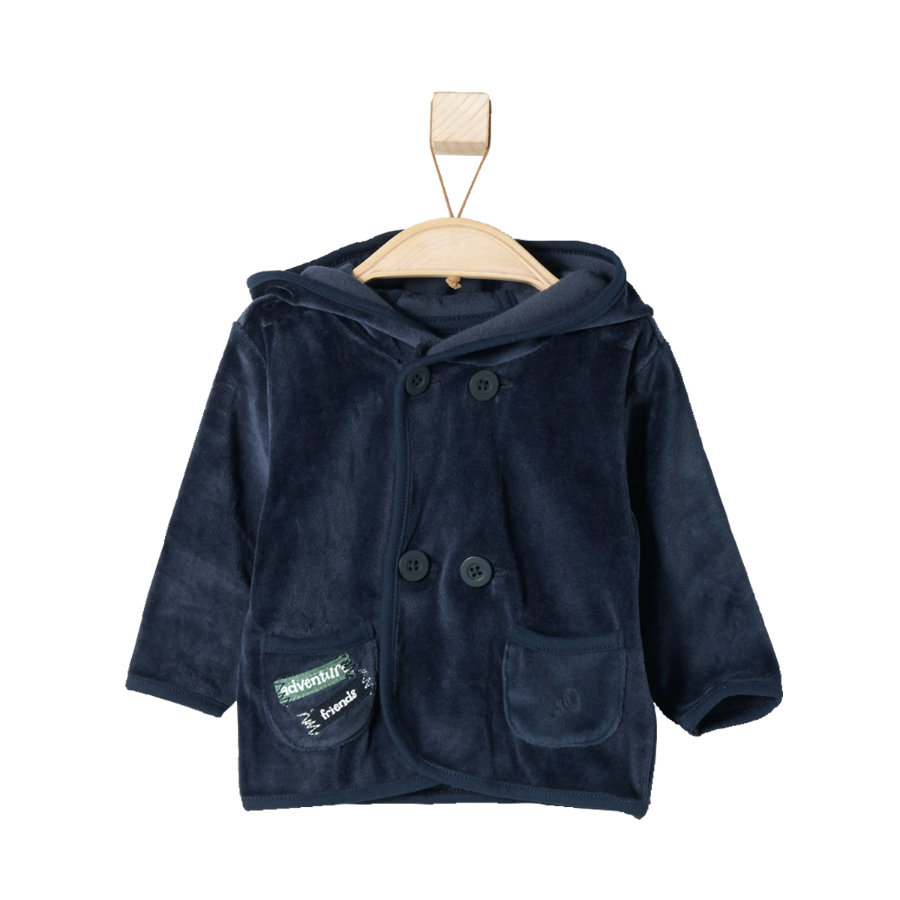 s.OLIVER Boys Baby Nicki Jacke dark blue