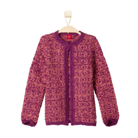 s.OLIVER Girls Mini Sweterek bordeaux