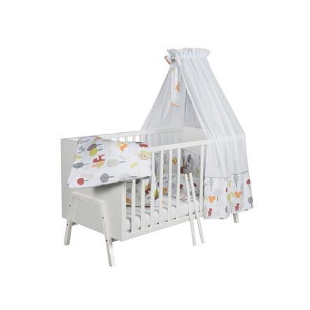 SCHARDT Lit bébé évolutif HOLLY WHITE, 70 x 140 cm, blanc