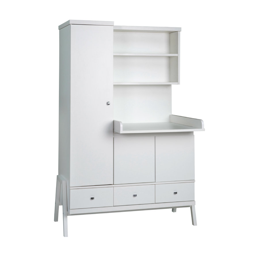 Schardt Schrank mit Wickelkommode Holly White