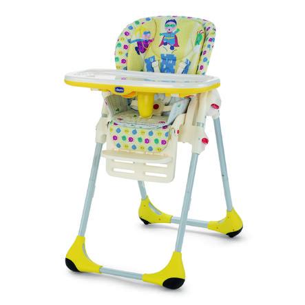 CHICCO Jídelní židlička Polly 2 IN 1 ENERGY