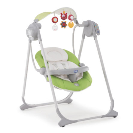 chicco Balancelle Polly Swing Up vert