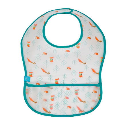 LÄSSIG Lätzchen Bib EVA Little Tree - Fox