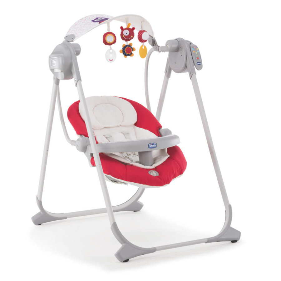 chicco Polly Swing Up babyvippestol paprika