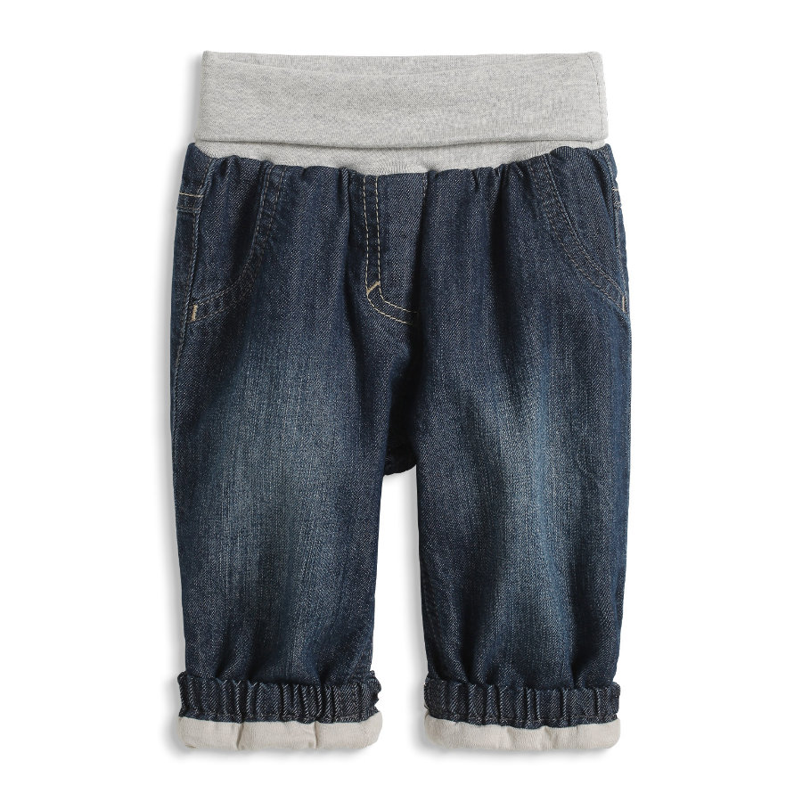 ESPRIT Newborn Denim Spodnie dark blue