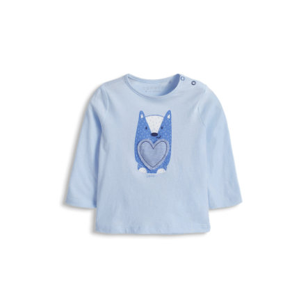 ESPRIT Newborn Bluzka jasnoniebieski