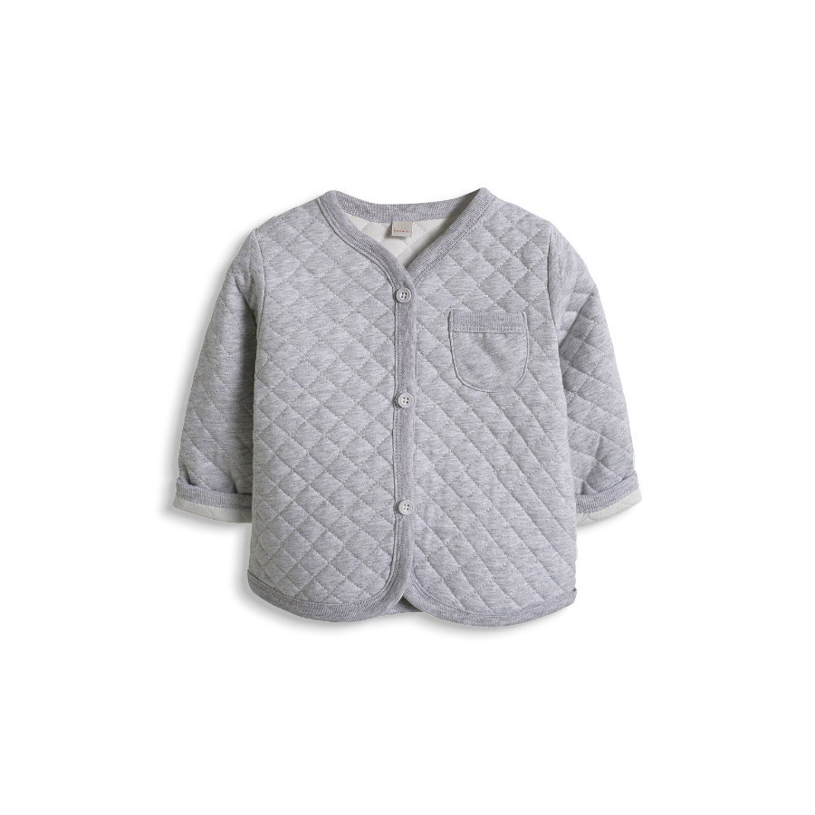 ESPRIT Newborn Kurtka Quilted Card grey