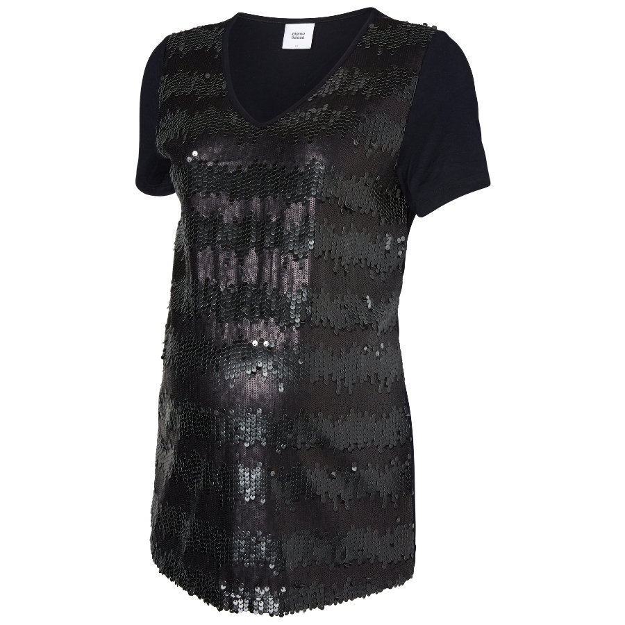 MAMA LICIOUS Bluzka z krótkim rękawkiem dla kobiet w ciąży LISABELLA SS JERSEY TOP