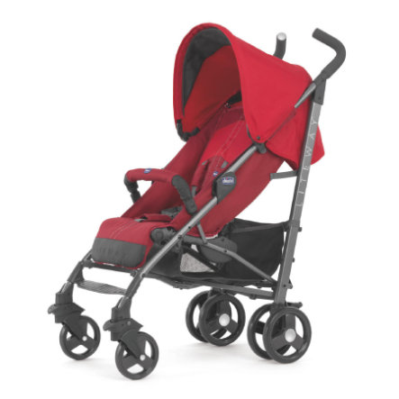 chicco Sportwagen Lite Way mit faltbarem Frontbügel RED