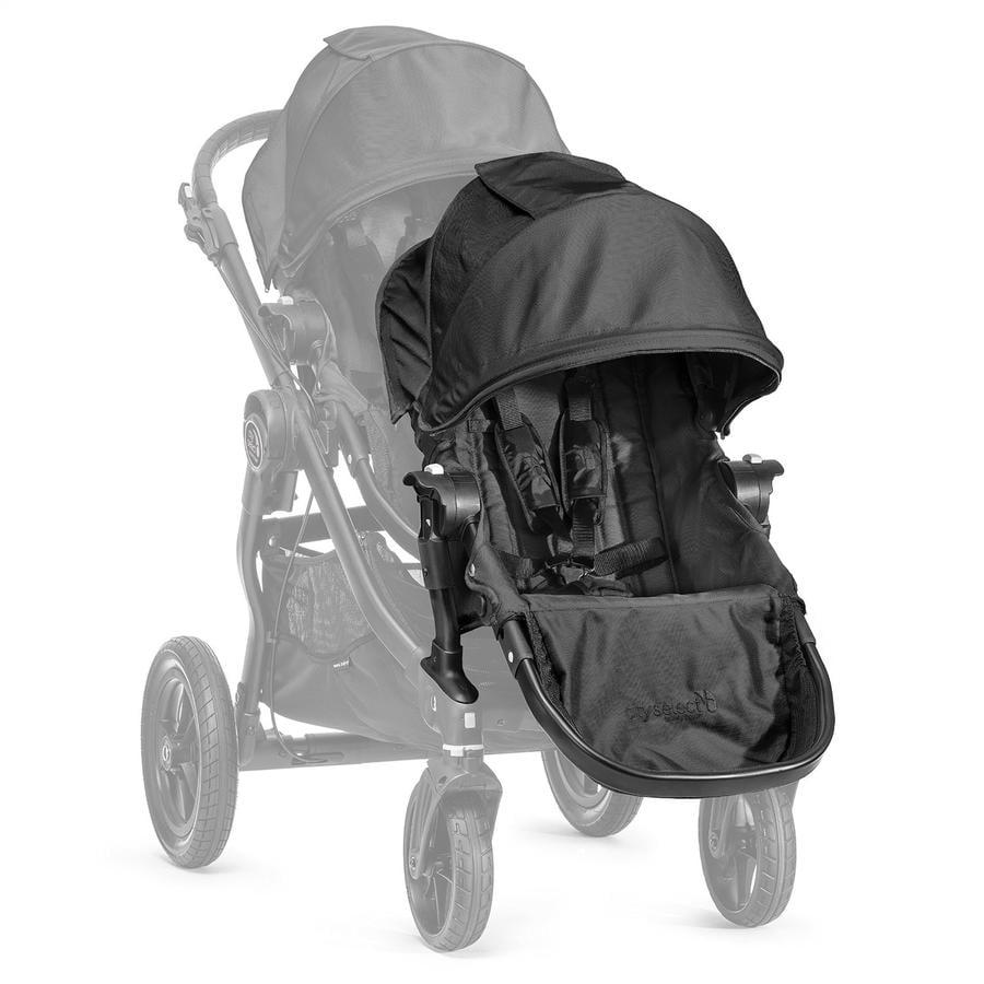 Baby Jogger Select tweede zitje met adapter black