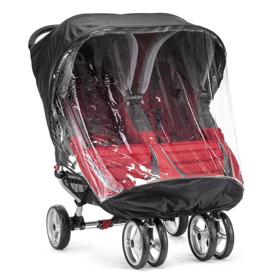 BABY JOGGER Protection pluie pour City Mini Double et City Mini GT Double