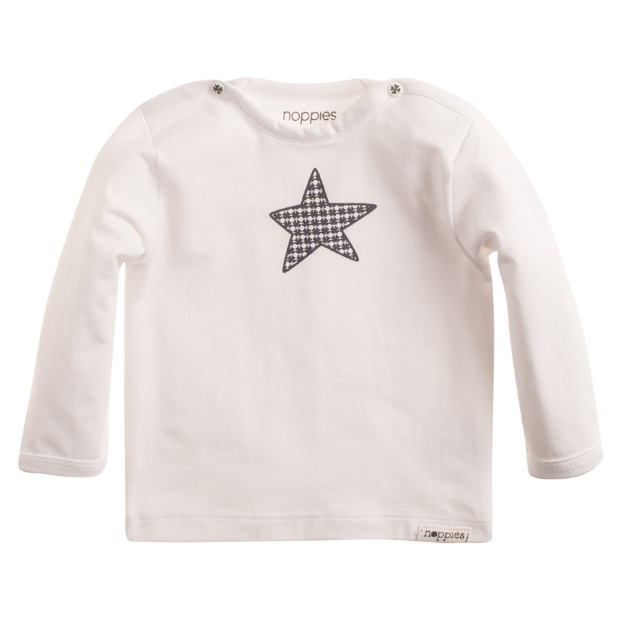 NOPPIES Newborn Longsleeve weiß