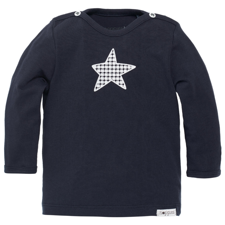 NOPPIES Newborn Longsleeve navy