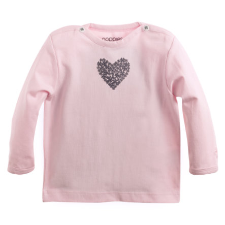 NOPPIES Newborn Longsleeve roze