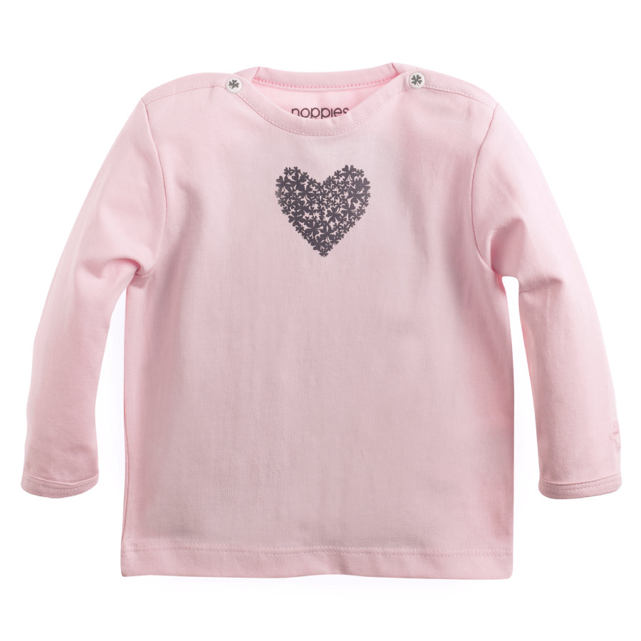 NOPPIES Newborn Longsleeve rosa