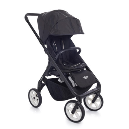 EASYWALKER MINI Barnvagn Black/white hjul