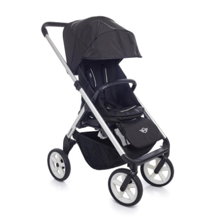 EASYWALKER MINI Kinderwagen Silver/white wheels