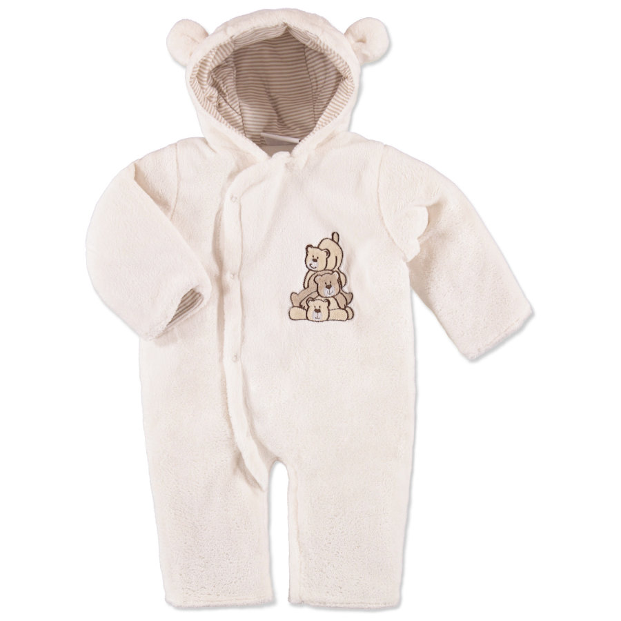 EDITION4BABYS Coralfleece - Overall offwhite