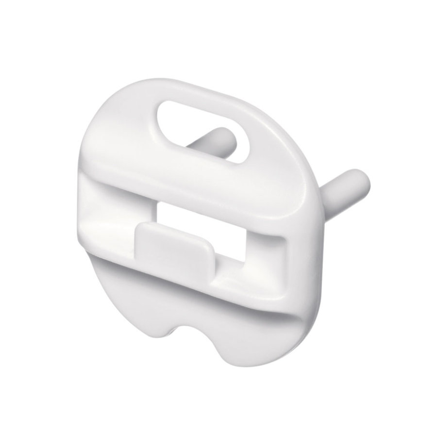 REER Stopcontact afdekkap wit