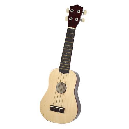 VOGGENREITER Voggyho dětská kytara dřevěná přírodní (ukulele)