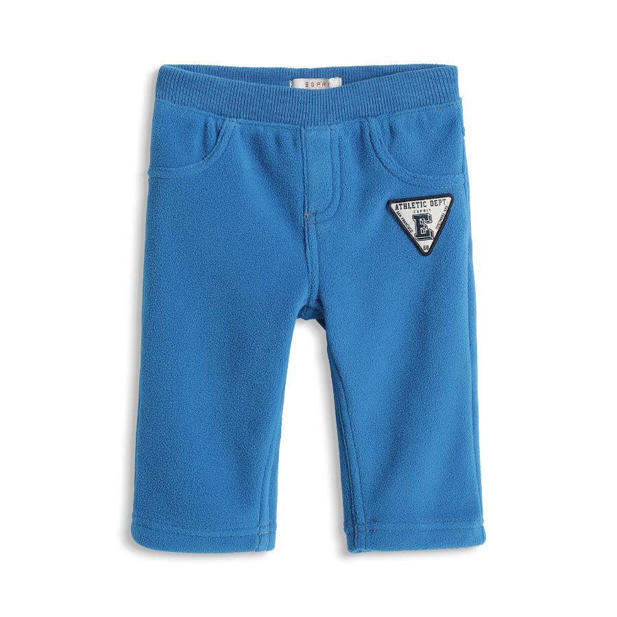 ESPRIT Fleece Spodnie Pants blue