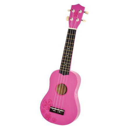 VOGGENREITER Voggy's Kindergitarre Pink Lady (Ukulele)