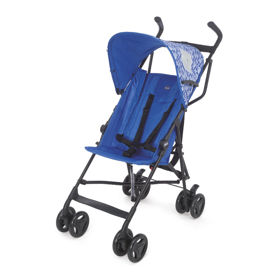 CHICCO Buggy Snappy BLUE WHALES