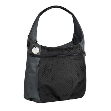 LÄSSIG Borsa Fasciatoio Casual Hobo bag black nera