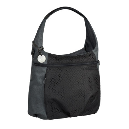 LÄSSIG Wickeltasche  Casual Hobo bag black