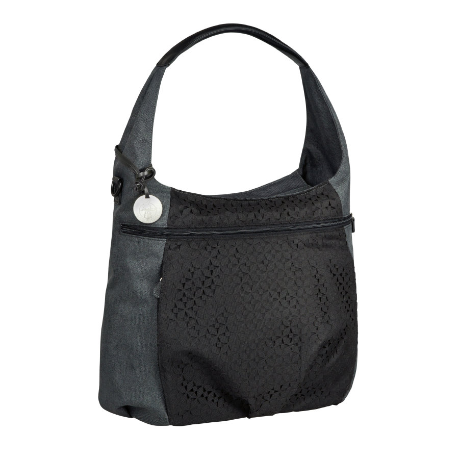 LÄSSIG Hoitolaukku Casual Hobo Bag, Black