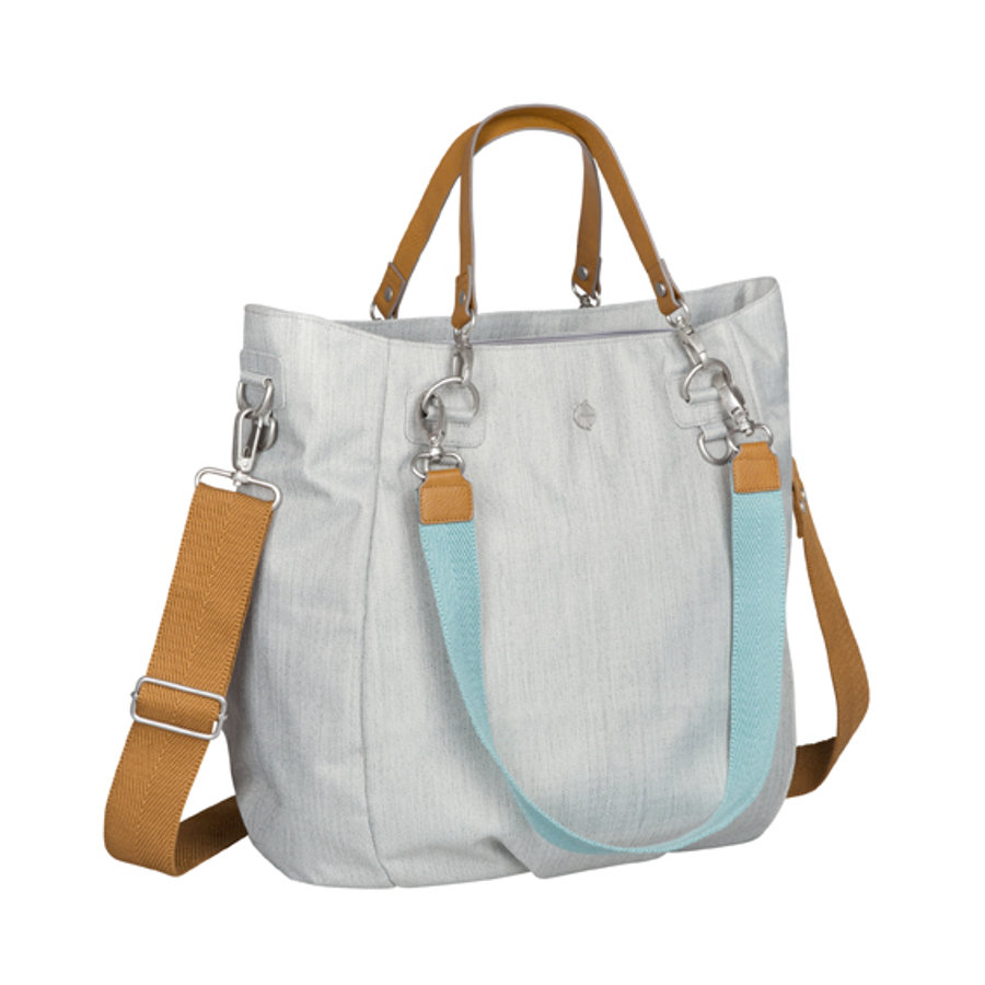 LÄSSIG Sac à langer Green Label Mix 'n Match Bag, gris clair