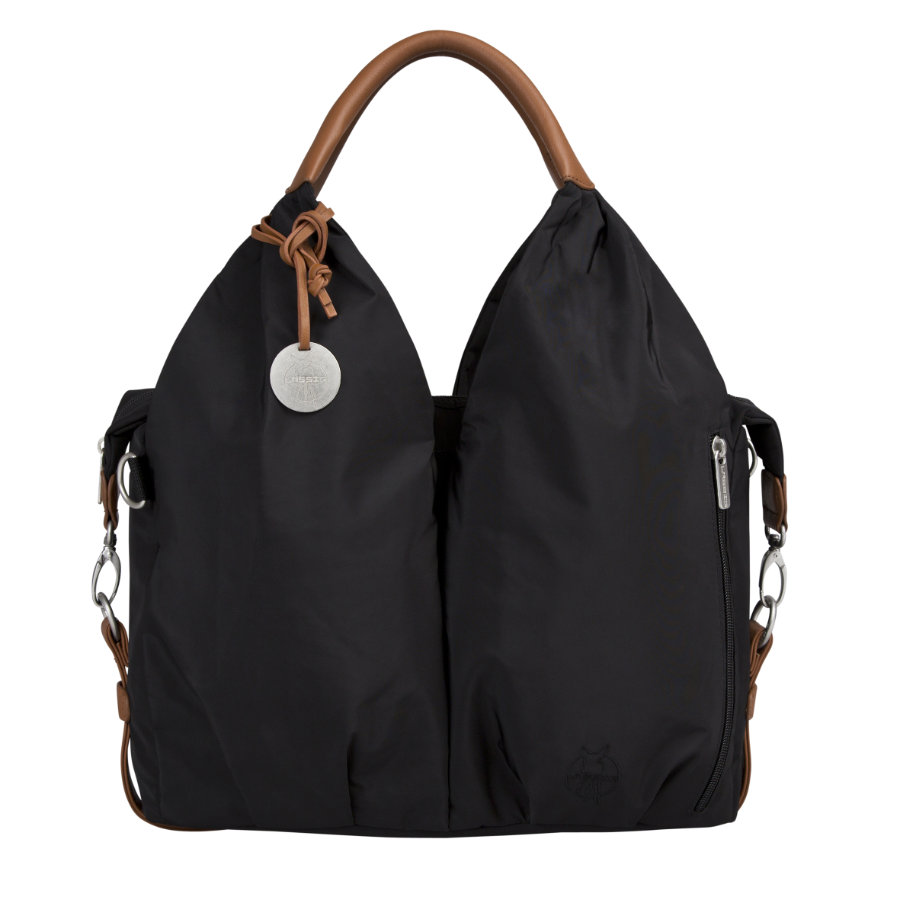 LÄSSIG Nappy Bag Glam Signature Bag black