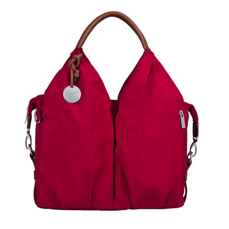 LÄSSIG Wickeltasche Glam Signature Bag red