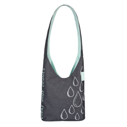 LÄSSIG Borsa fasciatoio Green Label Shopper Ecoya anthracite/misty jade