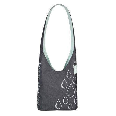 LÄSSIG Přebalovací taškaGreen Label Shopper Ecoya anthracite/misty jade