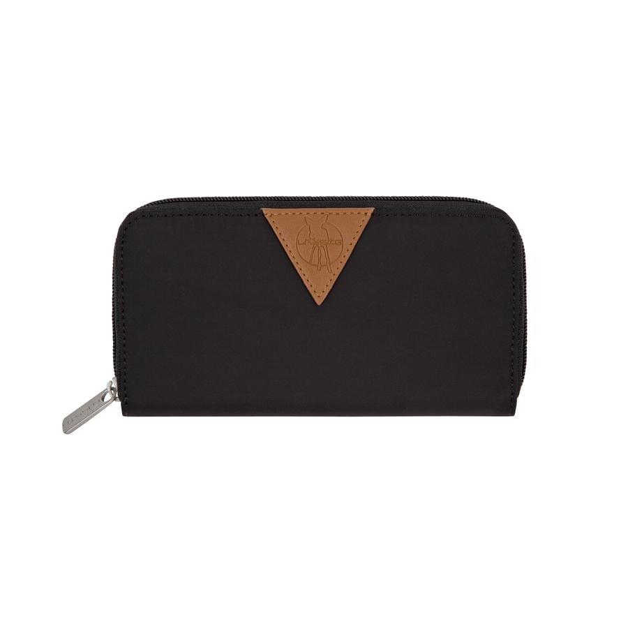 LÄSSIG Portemonnee Glam Signature Wallet black